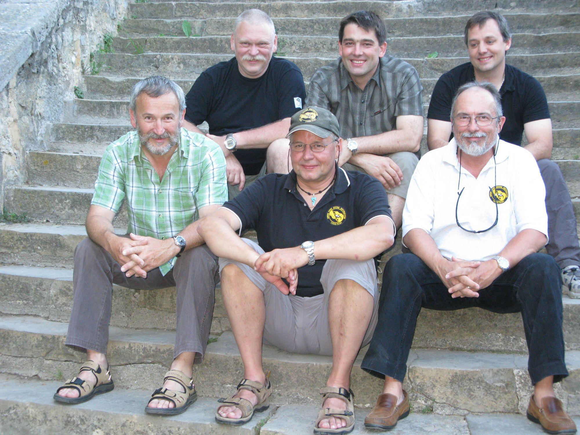 Team 2009 ohne José